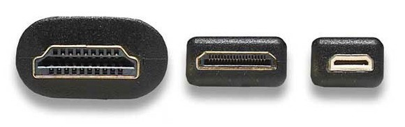 HDMI type C, mini HDMI
